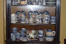 Polish Pottery Displays to love