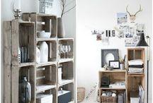 crear muebles con cajas