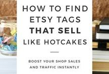 Etsy / Tips for starting your business on etsy.  | Etsy | Crafts | Selling | Business |