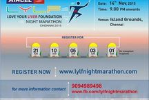 AIRCEL LYLF NIGHT MARATHON, CHENNAI 2015 / Lace Up & Register now for the AIRCEL LYLF NIGHT MARATHON, CHENNAI 2015 and support this great movement of Organ Donation Campaign...  ‪#‎isupport‬ ‪#‎organdonation‬ ‪#‎LYLF‬ ‪#‎NightMarathon‬ ‪#‎loveyourliver‬ ‪#‎chennai‬ ‪#‎marathon‬ ‪#‎healthy‬ ‪#‎fitness‬  For more details : www.lylfnightmarathon.com