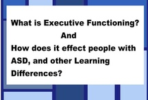 Executive Functioning / The executive functions are a set of processes that all have to do with managing oneself and one's resources in order to achieve a goal - such as planning, working memory, attention, problem solving, verbal reasoning, inhibition, mental flexibility, task switching, and initiation and monitoring of actions.