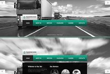 transportation web design IDEAS