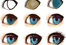 Drawing eyes ️