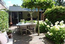 kleine tuin / Veranda