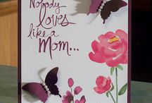 Stampin up Mother's Day cards