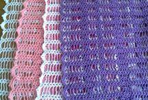 caminhos de mesa em crochês