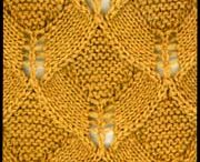 Lace stitches and patterns - knitting
