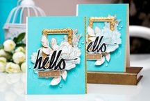 Romantic handmade cards