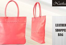 Leather Shopper Bags / Leather Shopper Bags