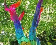 Live tree art