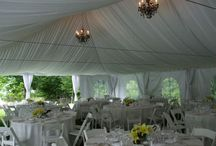 Tent Weddings / Great Ideas of how to style your tent wedding