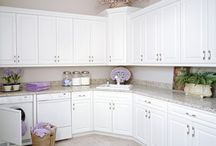 LaFata Laundry Room Cabinets / We make cabinets for any room in your home, including the laundry room!