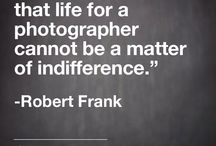 Photography Quotes / Be inspired by the photography giants that came before us.