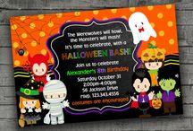 Invitaciones Halloween