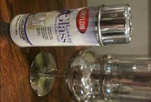 DIY Mercury Glass painting