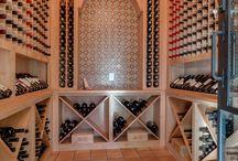 Wine storage and wet bars
