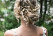 Low Bun Wedding Hair