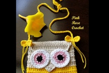 corujas crochet