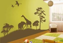 Baby Room / Some ideas for my baby's nursery.  I am going to do a African/Animal/Safari theme.