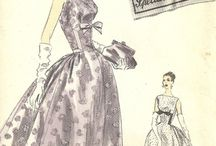 Vintage pattern for sewing