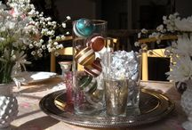 New Year's Eve Table Scape