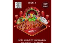 Club Casino Night Party Package