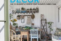 Shed Decor designs