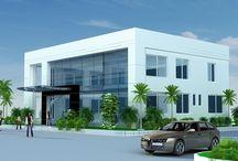 Thiết kế văn phòng phối cảnh 3D / Bộ sưu tập thiết kế văn phòng đẹp phối cảnh 3D Việt Nội Thất đã thiết kế và thi công