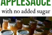 how to can apple sauce