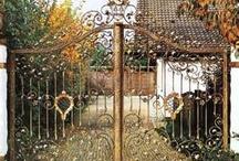 Beautiful Iron Gates