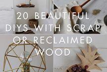 wood / by Brenda Costner