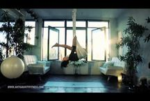 Antigravityyoga / Træning, inspiration