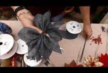 video yılbaşı çiçek yapımı