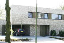 moderne villa (baksteen)
