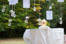 Wedding tableau / Many original ideas to create your tableau de mariage but remember that it will always have to respect the theme of your wedding.