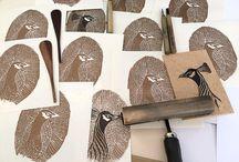 Woodcut / Woodcut created by ETC.