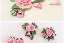 CRAFT: polymer clay flowers / by Neri atelier Winged bow ties