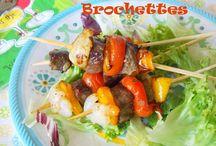 brochettes et barbecue / brochettes et barbecue