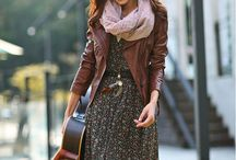 Brown leather look