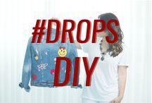 DROPS DIY / Os tutoriais mais legais do momento você encontra aqui. #DropsDIY #diy #howto www.dropsdasdez.com.br/tag/ drops-diy