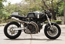 Cafe Racer bikes / Ducati & CBs