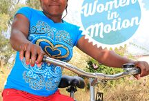 Women in Motion / Saturday, March 8 marks International Women's Day. Join us throughout the week as we feature stories celebrating women who follow their dreams and change their world.  #womensday #IWD2014 #inspiringchange  http://ow.ly/uah7z / by World Bicycle Relief
