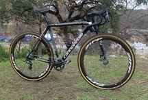 Cycling art - cyclocross
