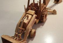 Miniaturas em madeiras