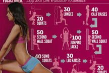 Exercises I may do once / by Andrea Dokken Novak