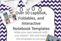 Foldable Templates from TPT