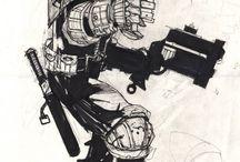Comic Artist - Simon Bisley