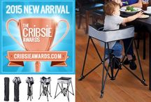 KidCo DinePod Portable Lighweight High Chair / Our Academy Star