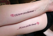 mother-daughter tattoos / by Jennifer Bryant