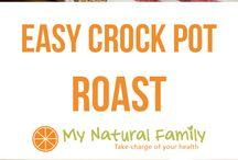 It's Crock Pot Time! / by Jenna Hayward